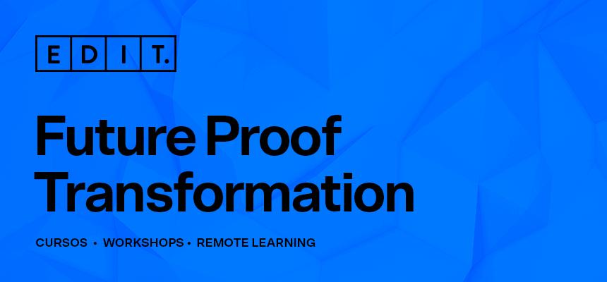 BANNER Future Proof formação remote learning